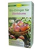 SCHACHT BIO-Dünger für Obstbäume, Obstbaumdünger 2 kg