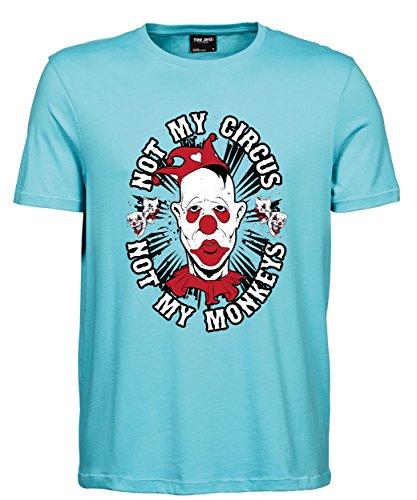 makato Herren T-Shirt Luxury Tee Not Mine Aqua