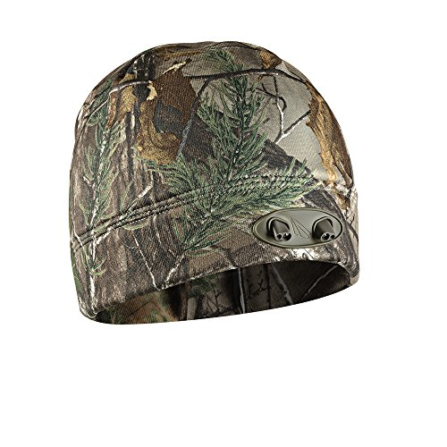 POWERCAP CUBWB-4539 4LED Beanie, Real Tree Xtra Camo by POWERCAP