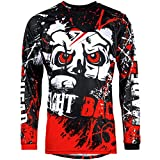 Broken Head MX Jersey Strike Back rot | Moto-Cross Jersey - BMX - Offroad - Trikot - Racing Shirt (L)