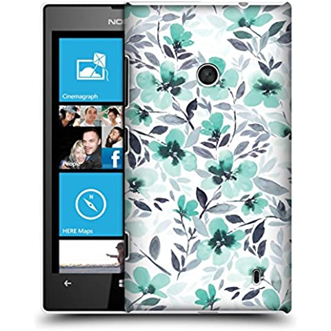 Ufficiale Jacqueline Maldonado Spirito menta Pattern Cover Retro Rigida per Nokia Lumia 520 / (520 Menta)