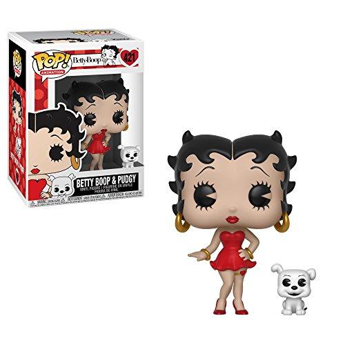 Funko- Pop Animation Boop-Betty Boop & Pudgy Figura, Multicolor (33432)