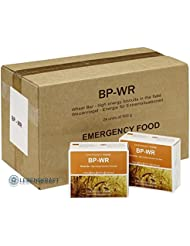 Original BP WR – BP 5 Emergency Food 24 x 500 Gramm + 1 kg zertifiziertes original Urdinkel Saatgut Ebners Rotkorn, Nahrungsmittelvorsorge, Lebensmittelvorrat, Notvorrat mit extrem langer Haltbarkeit