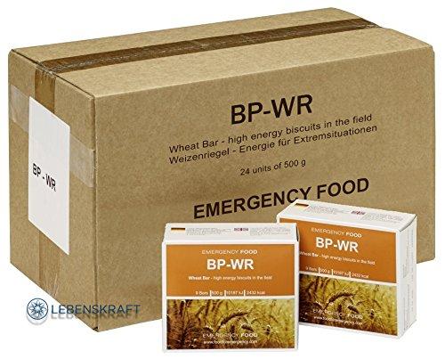 Lebenskraft BP WR –BP 5 Emergency Food 24 x 500 Gramm Langzeitnahrung + 1 kg Urdinkel Saatgut,