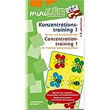 miniLÜK: Konzentrationstraining 1: für Vor- und Grundschulkinder