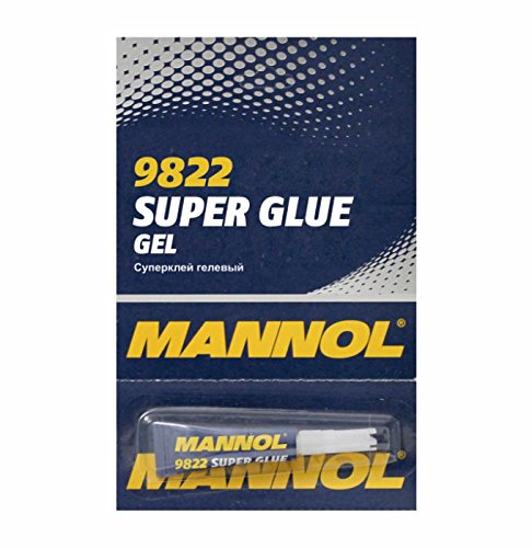 River Direct MANNOL 9822 Super Glue Gel SEKUNDENKLEBER ALLESKLEBER KLEBSTOFF 3G