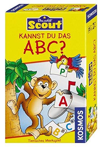 Kosmos 710521 - Scout - Kannst du das ABC? - Karte-spiel Affe