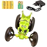 Ben Ten Super Power R/c Stunt Car With Rechargeable Battery And Many Stunt Rounds Like-Forward, Reverse/ Right, Left/Tumbling Flip Action/Drift /Crash-worthiness/360 Degree Movement/Light/Sound