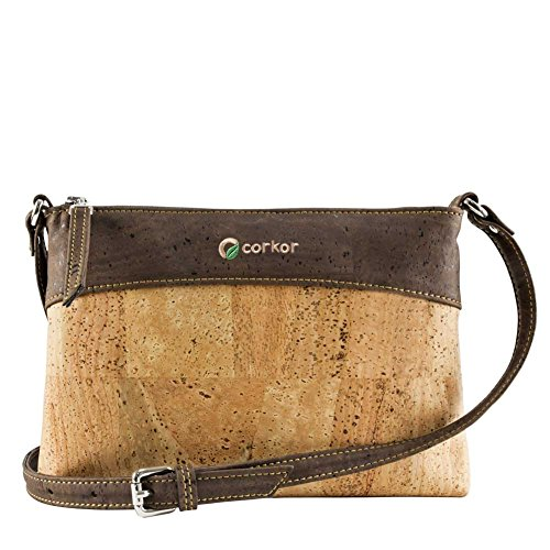 Crossbody Bag Women - Vegan Handbag Cross-Body - Cork Purse - Cork Handbag