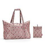 Reisenthel Mini Maxi travelbag Sac de Plage, 65 cm, 30 liters, Rouge (Diamonds Rouge)