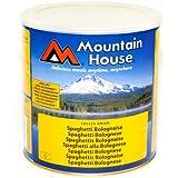 Mountain House Freeze Dried Food #10 Tin 25 Year Shelf Life Spaghetti Bolognaise Serves 5