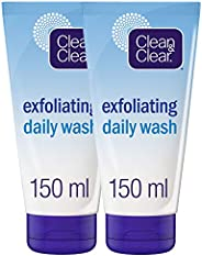 CLEAN & CLEAR Daily Wash Exfoliating, 150 ml, Pack