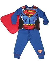 Superman - Ensemble de pyjama avec cape détachable - Garçon