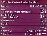 Amecke + natürliche Antioxidantien rot – 100% Saft, 6er Pack (6 x 1 l Packung) - 3
