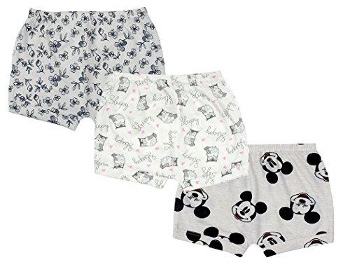 Sofie & Sam Bio-Baumwolle 3er Pack Combo 3-6 Monate Baby Shorts (Bio-baby-nachtwäsche)