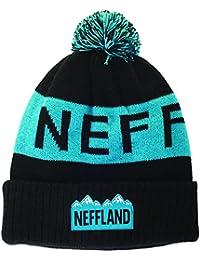 Neff Herren Mütze Lando, Black, One Size, 14F03030BLCKO/S