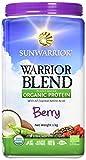 Sunwarrior Proteina Vegetale Bacche Rosse Warrior Blend - 1000 g immagine