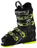 TECNOPRO Homme Chaussures de Ski Pulse 70, Noir/Jaune, 30.5