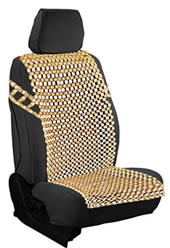 Zento Deals Naturale Royal Wood Bead coprisedile Massaggio Cool Premium Comfort Cuscino