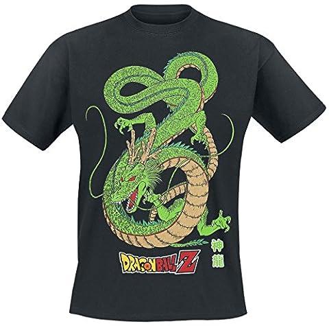 ABYstyle ABYstyleABYTEX167-XL Abysse Dragon Ball DBZ/ Shenron Short Sleeves Man Basic T-Shirt
