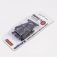 5 Set Multipack Unicorn Gripper 3 Short Black Dart Stems Shafts by PerfectDarts