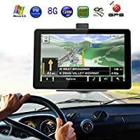 Sedeta Navegador GPS De 7 Pulgadas Sistema De Navegacion Mapas Pantalla Tactil/E-book/Video/Audio/Game Player