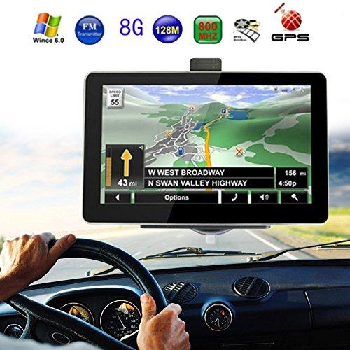 Sedeta Navegador GPS De 7 Pulgadas Sistema De Navegacion Mapas Pantalla Tactil/E-book/Video/Audio/Game Player