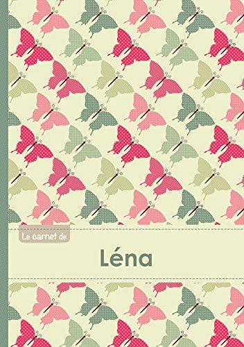Le carnet de Léna - Lignes, 96p, A5 - Papillons Vintage par Collectif