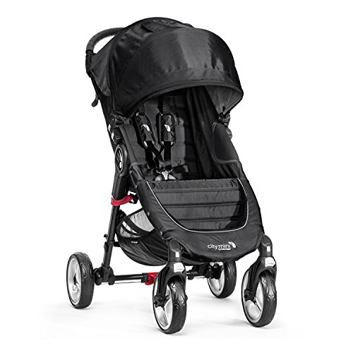 Baby Jogger City Mini 4 - Silla de paseo, color negro
