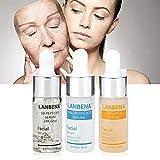 LANBENA Hyaluronic Six Peptides Serum 24K Gold Anti-aging + Hyaluronic Acid and Snail