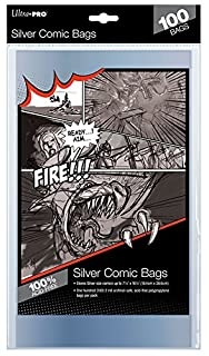 Ultra Pro Comic Bags (100-Piece, Silver) (B000OSTAAY) | Amazon price tracker / tracking, Amazon price history charts, Amazon price watches, Amazon price drop alerts