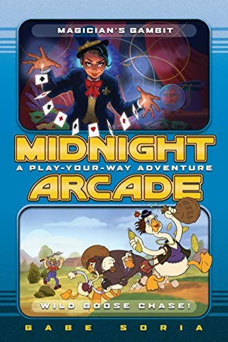 Magician's Gambit/Wild Goose Chase!: A Play-Your-Way Adventure (Midnight Arcade, Band 4)