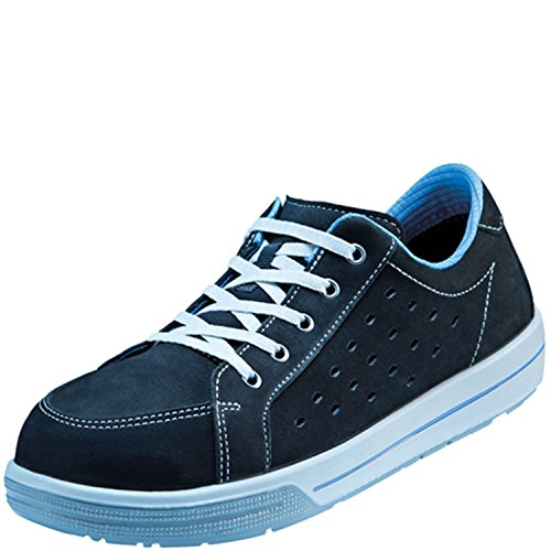 Chaussures basses de sécurité ESD A420Large dans 10après en ISO 20345S1de Atlas Noir