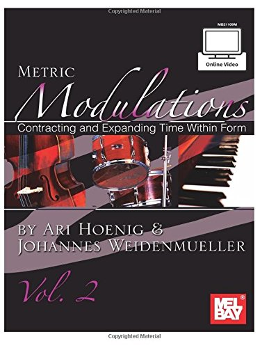 Ari Hoenig/Johannes Weidenmueller: Metric Modulations, Vol. 2 (Book/Online Video) +CD+DVD: Volume 2