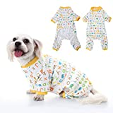 WIDEN Pet Dog Cat Pajamas Tempo libero Durable modello in cotone Pet tuta Lettera