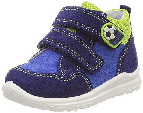 superfit Baby Jungen Mel Sneaker, Blau (Nautic Kombi), 22 EU