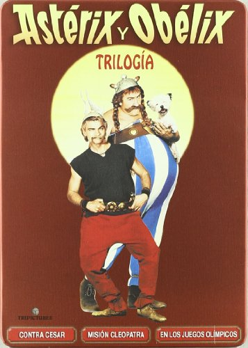 Asterix Y Obelix La Trilogie (Boitier Metallique) (4 Dvds) (2009) (Import) (Keine Deutsche Sprache)