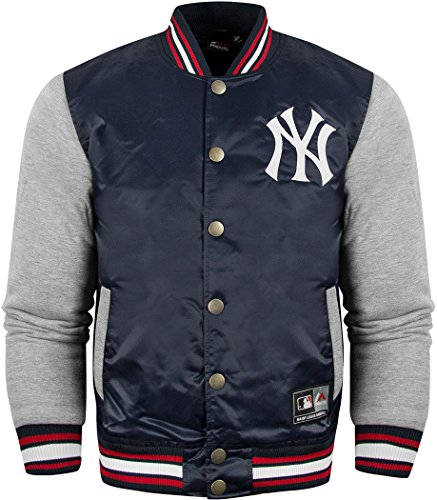 Ufficiale Majestic Athletics New York Yankees Creech Varsity Jacket Navy Small