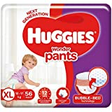 Huggies Wonder Pants Extra Large Size Diapers, 56 Count