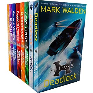 Mark Walden Higher Institute of Villainous Education 8 Books Collection Set RRP: £55.92 (H.I.V.E., The Overlord Protocol, Escape Velocity, Dreadnought, Rogue, Zero Hour, Aftershock, Deadlock)