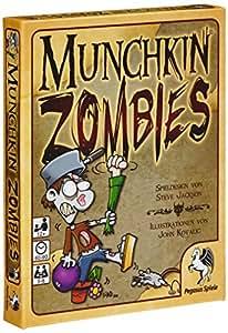 Pegasus Spiele 17135G Munchkin Zombies - deutsche Ausgabe