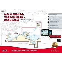 Sportbootkarten Satz 2: Mecklenburg-Vorpommern - Bornholm (Ausgabe 2016): Mit Lübecker Bucht und Stettiner Haff