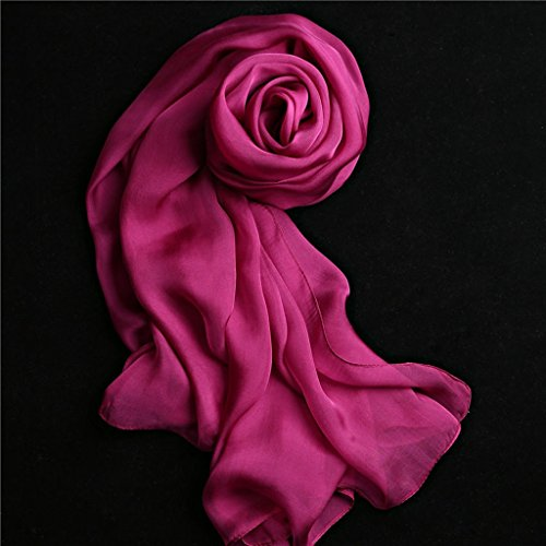 serviette de plage Lady Silk Solid Color Multi-couleur Écharpe à foulard en forme de foulard Long Shawl Foulard sauvage ( Couleur : #2 ) #2