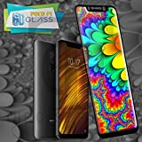 #7: Original Premium MI Poco F1 5DTempered Glass – Premium Full Glue MI Poco F1 Tempered Glass, Full Edge-Edge Screen Protection for MI Poco F1