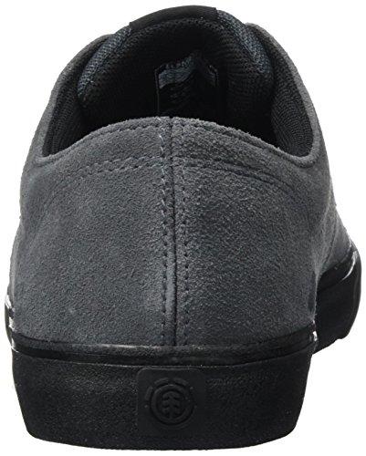 Element Herren Topaz C3 Asphalt Blk Outdoor Fitnessschuhe Grau (Asphalt Black)
