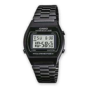 Casio Collection – Unisex-Armbanduhr mit Digital-Display und Edelstahlarmband – B640WB-1AEF