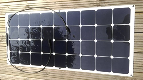 100W SOLAR PANEL FLEXIBLE FLEXIBEL TITAN-ENERGY Solarpanel / Sonnenkollektor / Solarkollektor /Photovoltaikmodul Mono-kristalline