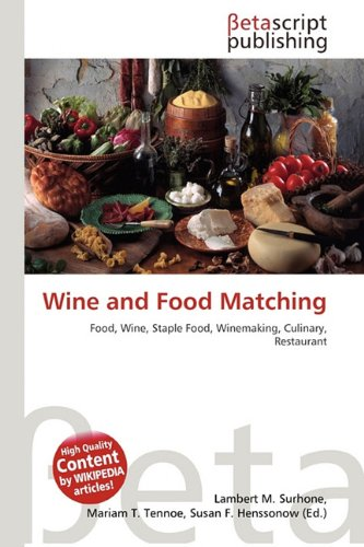 Wine and Food Matching