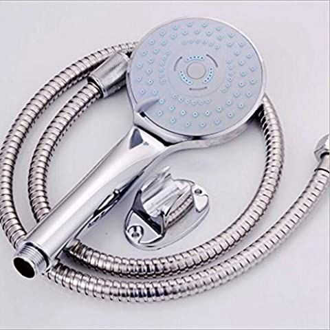 Jingzou Bathroom water, faucet, shower, three-piece, hand-held, shower, suit, simple, shower, shower, nozzle 120cm