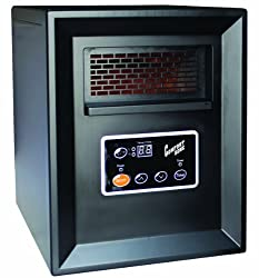 Comfort Zone Infrared Quartz Heater - 3413 BTU, 1000 Watts, Model CZ2011P